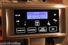 Delonghi ESAM 6700 Primadonna Umbau Reparatur Dienstleistung Wechsel LCD-Modul