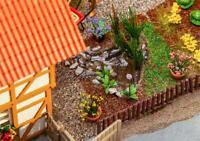 Faller 180973, 7 Bassins de Jardin, Kit de Montage Miniatures H0 (1:87)