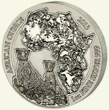 Ruanda 2013 kinyarwanda guepardo/Cheetah 50 de 1 onza de plata st/bu en lámina!