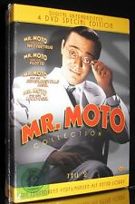 DVD MR. MOTO COLLECTION TEIL 2 - SPECIAL EDITION - 4 DISC-SET - PETER LORRE *NEU