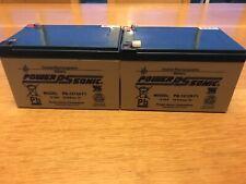 12v 12ah battery X2