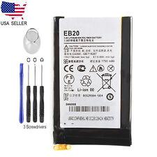 New EB20 Battery Replacement for Motorola Droid RAZR XT910 XT912 1750mAh + Tools