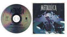 Cd PROMO METALLICA The unforgiven II - Promotional 1998 Cds single Reload