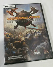 WARHAMMER ONLINE PC DVD GAME- SUBSCRIPTION AND INTERNET REQUIRED 2 PLAY -SEALED
