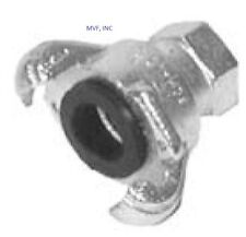 """1"""" FEMALE NPT UNIVERSAL CROWSFOOT COUPLING CHICAGO FITTING PLATED IRON SFF100"""
