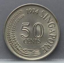 Singapore - 50 Cents 1974 - KM# 5