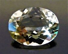 Oval Cut 7 x 9 mm 1.5 ct VVS Very Rare Yellow Colombian Beryl Solitaire Stone