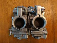 Patrick Racing Dual Mikuni HSR 42mm Carburetors Polished