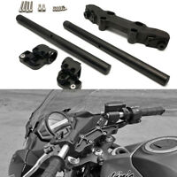 "For 2006-16 KAWASAKI NINJA 650R 7/8"" Inch Riser Clip On Adapter Plate Handlebar"