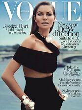 Vogue Magazine Australia January 2014,Jessica Hart NEW