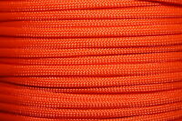 Neon Orange 550 Paracord Mil Spec Type III 7 strand parachute cord 10-100 ft