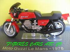 1/24 MOTO GUZZI 850 LE MANS  MOTORRAD MOTORCYCLE CLASSIQUE