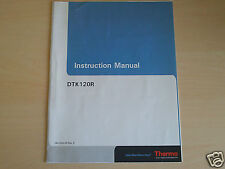Thermo Electron The Chemical Trap Kit  DTK120R Instruction Manual P/N: 092-3002