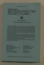 ARTHUR C. CLARKE 2010: Odyssey Two INSCRIBED UNCORRECTED PROOF