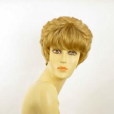 Perruque femme courte blond doré BRANDY 24B