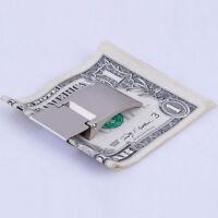 Money Clip Metal Note Holder Wallet Large Bills Men's Fashion TravelAccessory  J