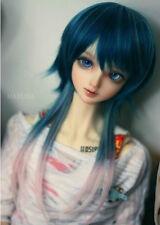 1/6 6-7 Dal Pullip BJD SD LUTS dollfie doll blue wig hair / barbie kids toy