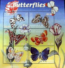 2000 MNH GRENADA GRENADINES BUTTERFLY STAMPS SHEET BUTTERFLIES INSECT MOTH