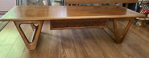"Mid Century Modern Lane Perception Coffee Table by Warren Church 56"" VGC"
