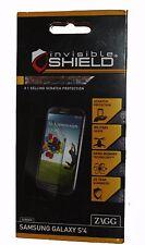 ZAGG INVISIBLE SHIELD Premium Screen Protection for Samsung Galaxy S4   **NEW***