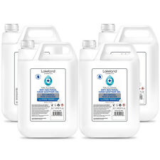 70% Alcohol Hand Sanitiser Gel 5L Litre x4 Kills 99.9% Bacteria, Germs Sanitizer