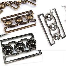 1 Gürtelschnalle,Zierschnalle,Schließe,Verschluß,Metall,Silber,Anthrazit,Messing