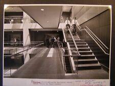 Glossy Press Photo 1989 Waltham Hobbs Brook Office Park Escalator Inside