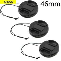 3x Khaos 46mm Front Lens Cap Cover For Nikon, Canon, Sony & Other DSLR Cameras