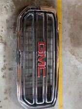 OEM GENUINE 2015 - 18 GMC Yukon Grille Chrome Assembly W/ Emblem