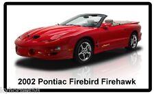2002 Pontiac Firebird Firehawk Refrigerator Magnet