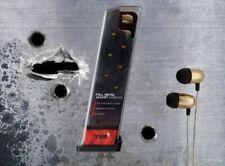Tier 1 Full Metal Jacket Earbuds Headphone Earphone Gold Gamestop Sold Out NEW