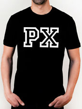 T-shirt VESPA PX logo Piaggio LML - Maglia Cotone 100% NERO