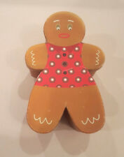 Cute Decorative Cardboard Gingerbread Man Box