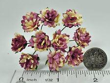 Mulberry Paper Flower Tiny Aster Creamy Pinkish Magenta handmade daisy purple