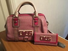 Genuine Guess Bag & Matching Wallet**BN**