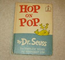 Hop on Pop by Dr. Seuss (1963, Hardcover)