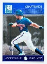 Jose Cruz #12 of 30 (1998 Donruss Elite) Craftmen #2792/3500, Toronto Blue Jays