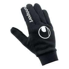 Uhlsport Field Football Sports Player Mens Gloves - Size 8 Black