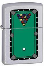 Zippo 205 pool table rack of balls Lighter