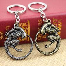 AVP Keychan Men's Punk Aliens Predator Pendant Key Chain Ring Movie Jewelry Gift
