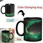 Color Changing Magic Heat Sensitive Aurora Ceramics Coffee Tea Mug Cup Gift