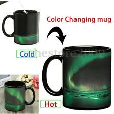 Color Changing Magic Heat Sensitive Aurora Ceramics Coffee Tea Mug Cup Gift