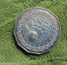 #D272.  2006  QUEEN ELIZABETH ROYAL VISIT   50 CENT COIN