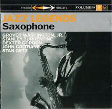 Jazz Legends - Saxophone-jazz-2 CD SET