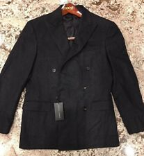 $1895.00 Ralph Lauren Black Label DB Nigel Coat  Italy Size  40 R