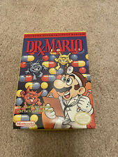 Nintendo Dr. Mario Box And Manual Only