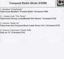 VARIOUS (MUALLEM/HARVEY LINDO/ZWICKER/ELEANOR) - Compost Radio Shots