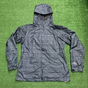 Columbia Mens Omni-Tech Waterproof Full Zip Hooded Rain Coat Jacket Size L