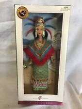 Barbie  Princess of Ancient Mexico Pink Label Dolls of the World - New in Box