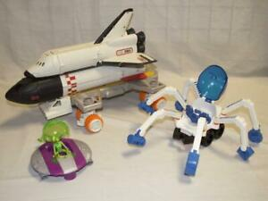 MBX Mega Rig Space Shuttle Mission Set Spider Rover Fisher Price Mattel Matchbox